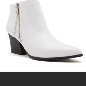 Shoes - Brand new white boots FIRM $20